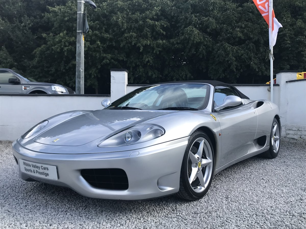 2004 FERRARI 360 F1 SPIDER ** ONLY 11,800 miles ** For Sale (picture 1 of 6)
