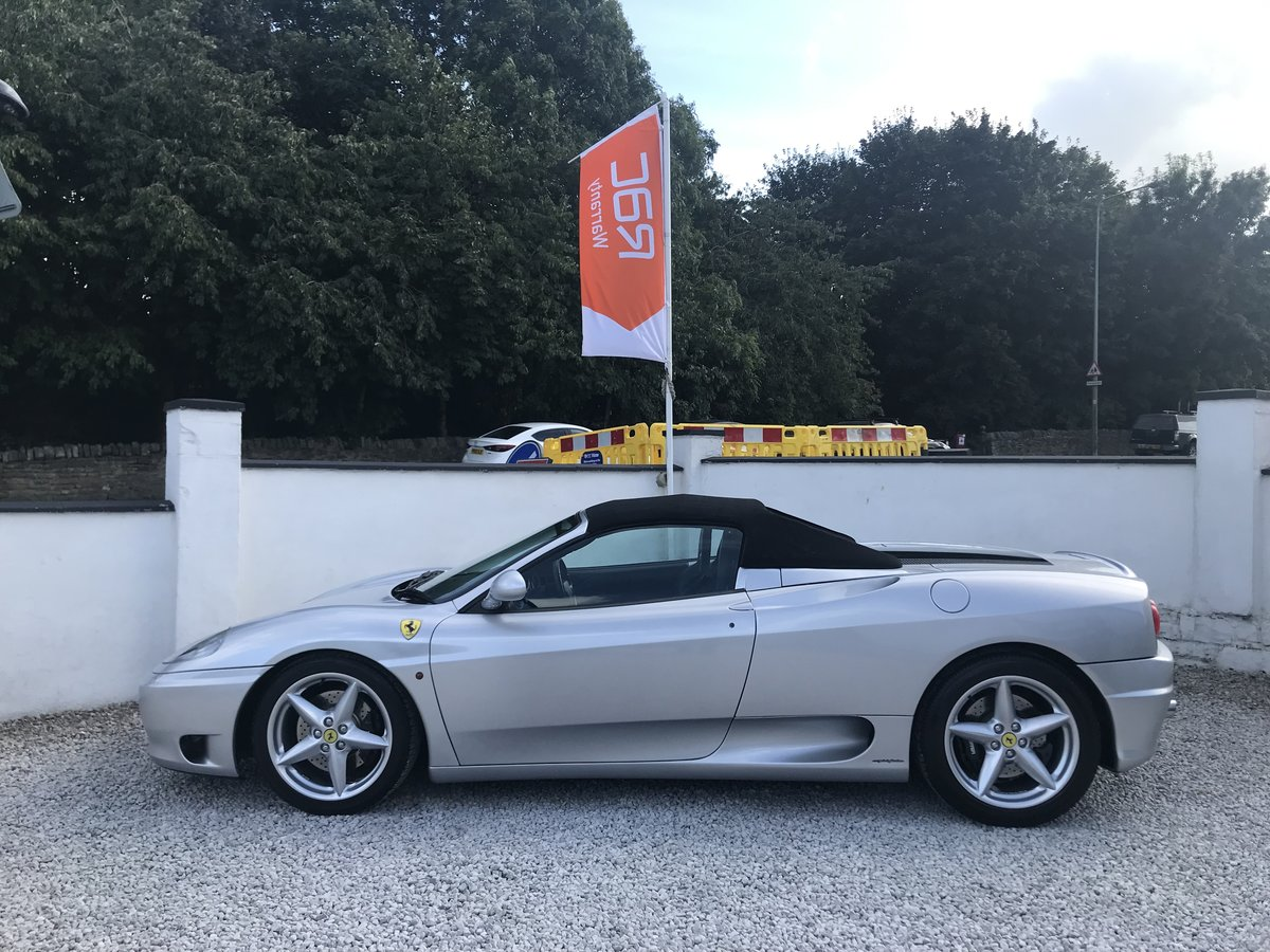 2004 FERRARI 360 F1 SPIDER ** ONLY 11,800 miles ** For Sale (picture 2 of 6)