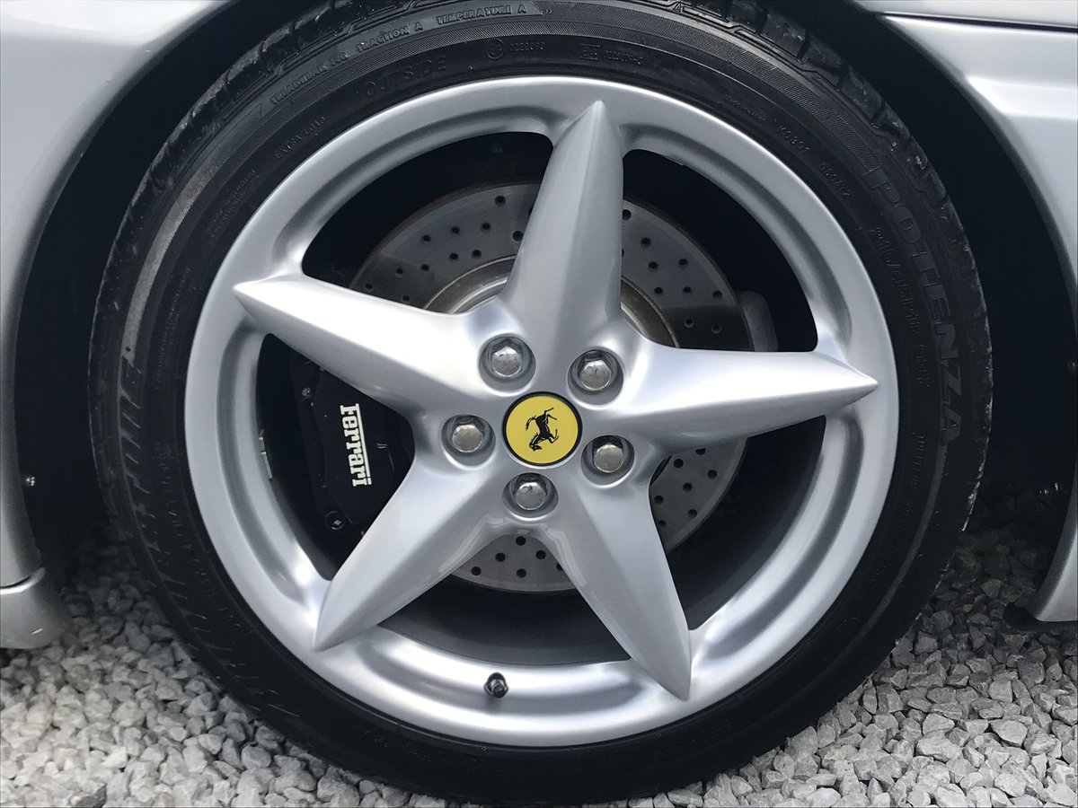 2004 FERRARI 360 F1 SPIDER ** ONLY 11,800 miles ** For Sale (picture 5 of 6)