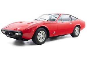 1971 Ferrari 365 GTC/4  Euro-specs Correct AC Red $229.5k For Sale
