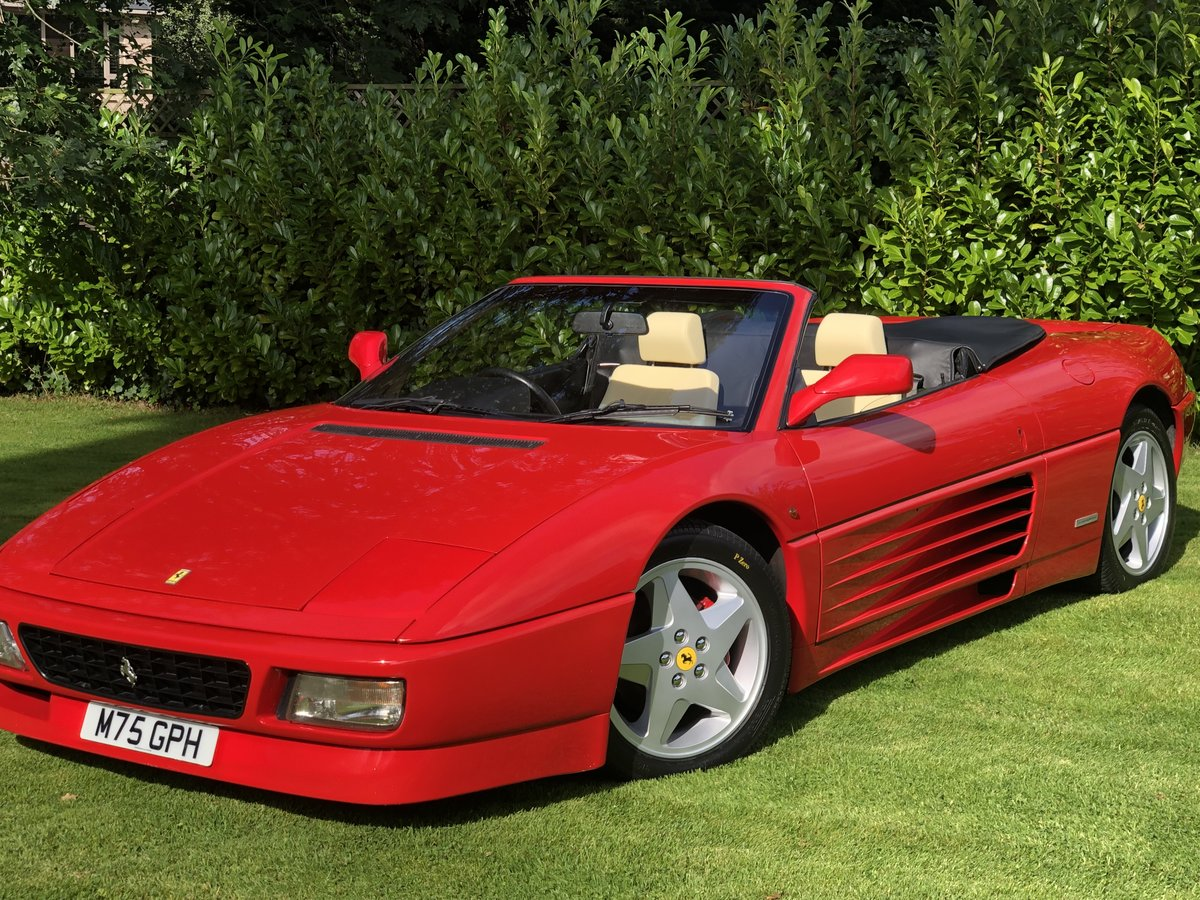 1994 Ferrari 348 RHD Manual Spider Low miles For Sale (picture 1 of 6)