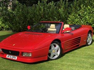 1994 Ferrari 348 RHD Manual Spider Low miles