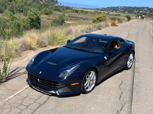 2016 Ferrari F12 Berlinetta Rare Pozzi Blue only 3.7k miles  For Sale