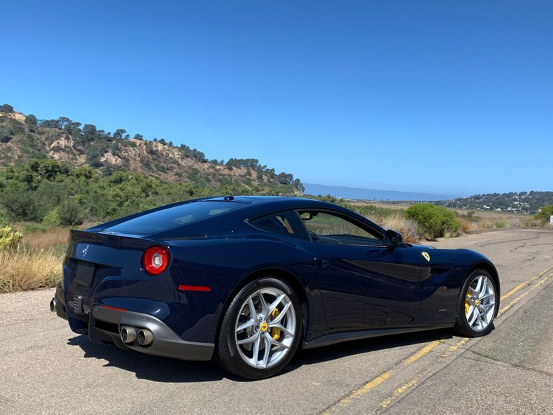 2016 Ferrari F12 Berlinetta Rare Pozzi Blue only 3.7k miles  For Sale (picture 2 of 6)