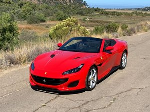 2019 Ferrari Portofino F1  only 425 miles Red(~)Black   $obo For Sale
