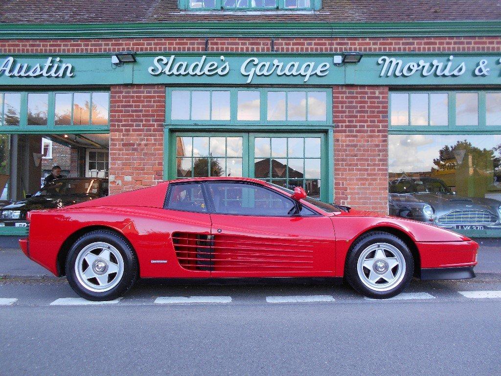 1986 Ferrari Testarossa Coupe Manual Monospecchio For Sale (picture 1 of 5)