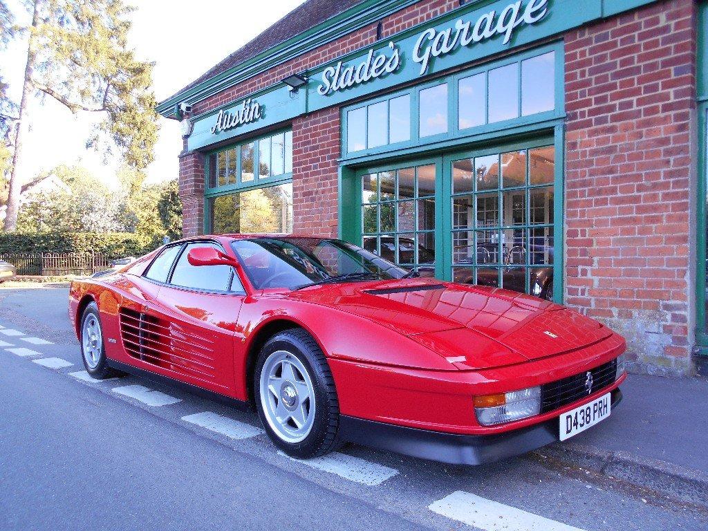 1986 Ferrari Testarossa Coupe Manual Monospecchio For Sale (picture 2 of 5)