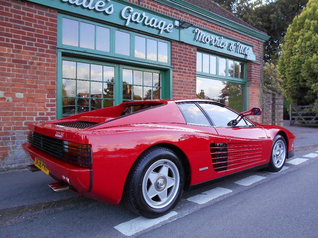 1986 Ferrari Testarossa Coupe Manual Monospecchio For Sale (picture 3 of 5)