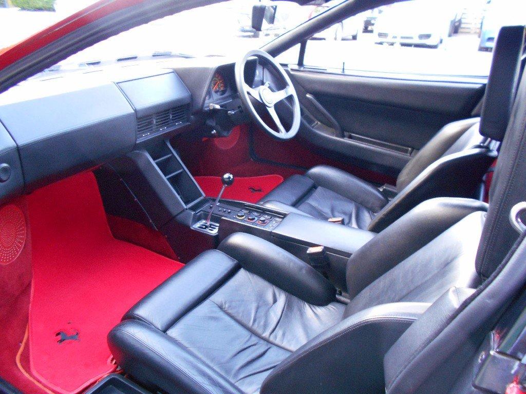 1986 Ferrari Testarossa Coupe Manual Monospecchio For Sale (picture 4 of 5)