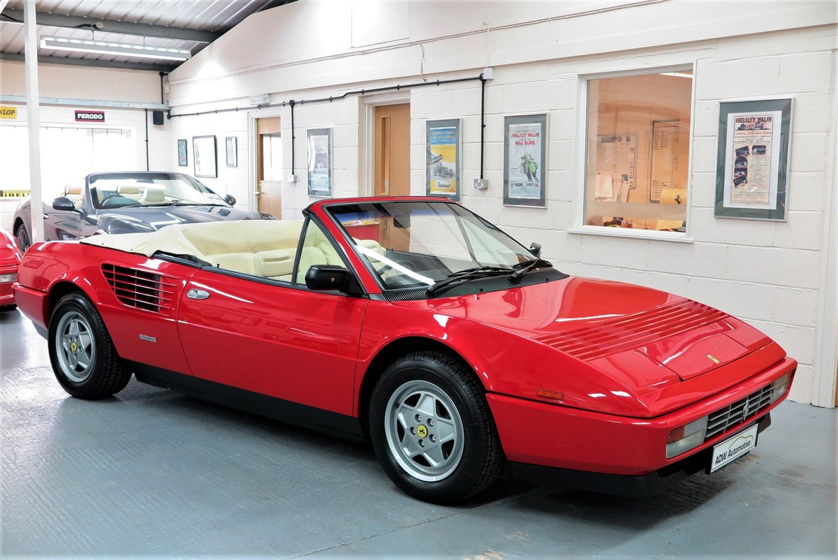1988 Ferrari Mondial 3.2 Cabriolet For Sale (picture 1 of 6)