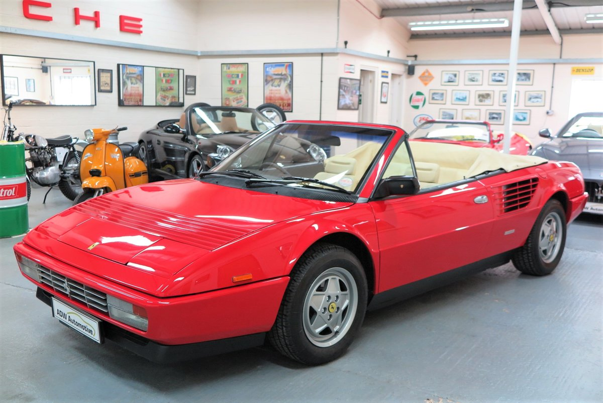1988 Ferrari Mondial 3.2 Cabriolet For Sale (picture 2 of 6)