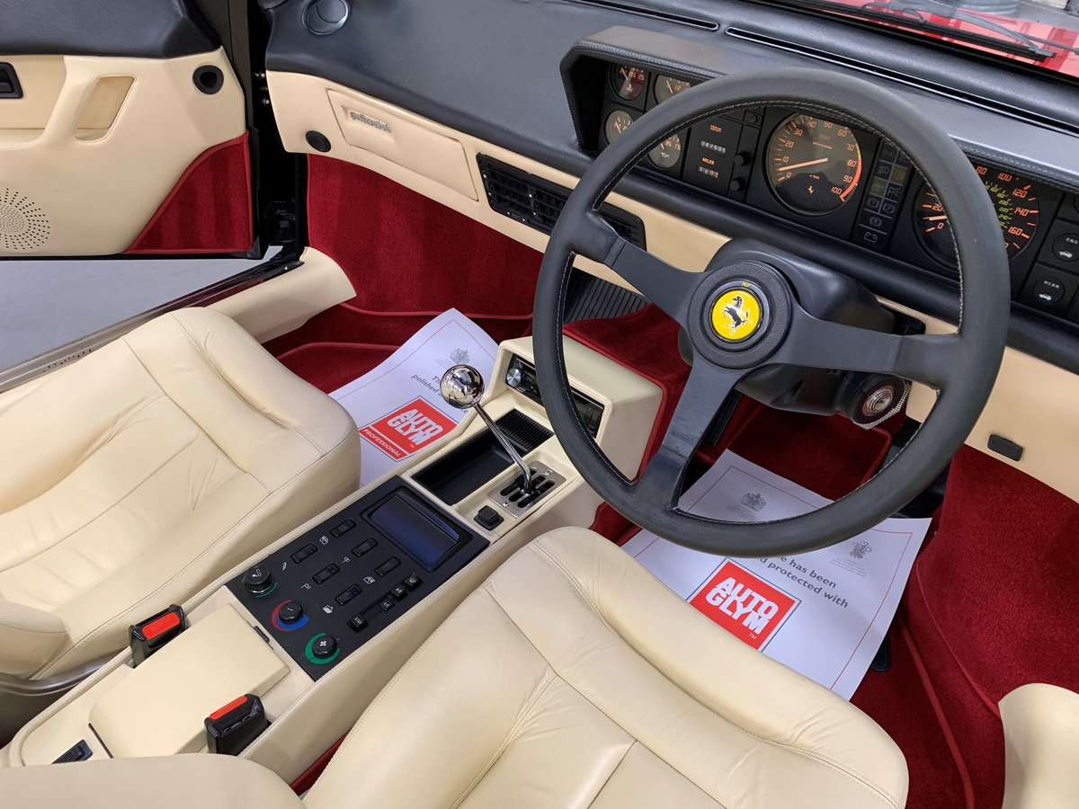 1988 Ferrari Mondial 3.2 Cabriolet For Sale (picture 4 of 6)