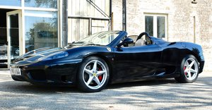 2002 Ferrari 360 Spider Manual