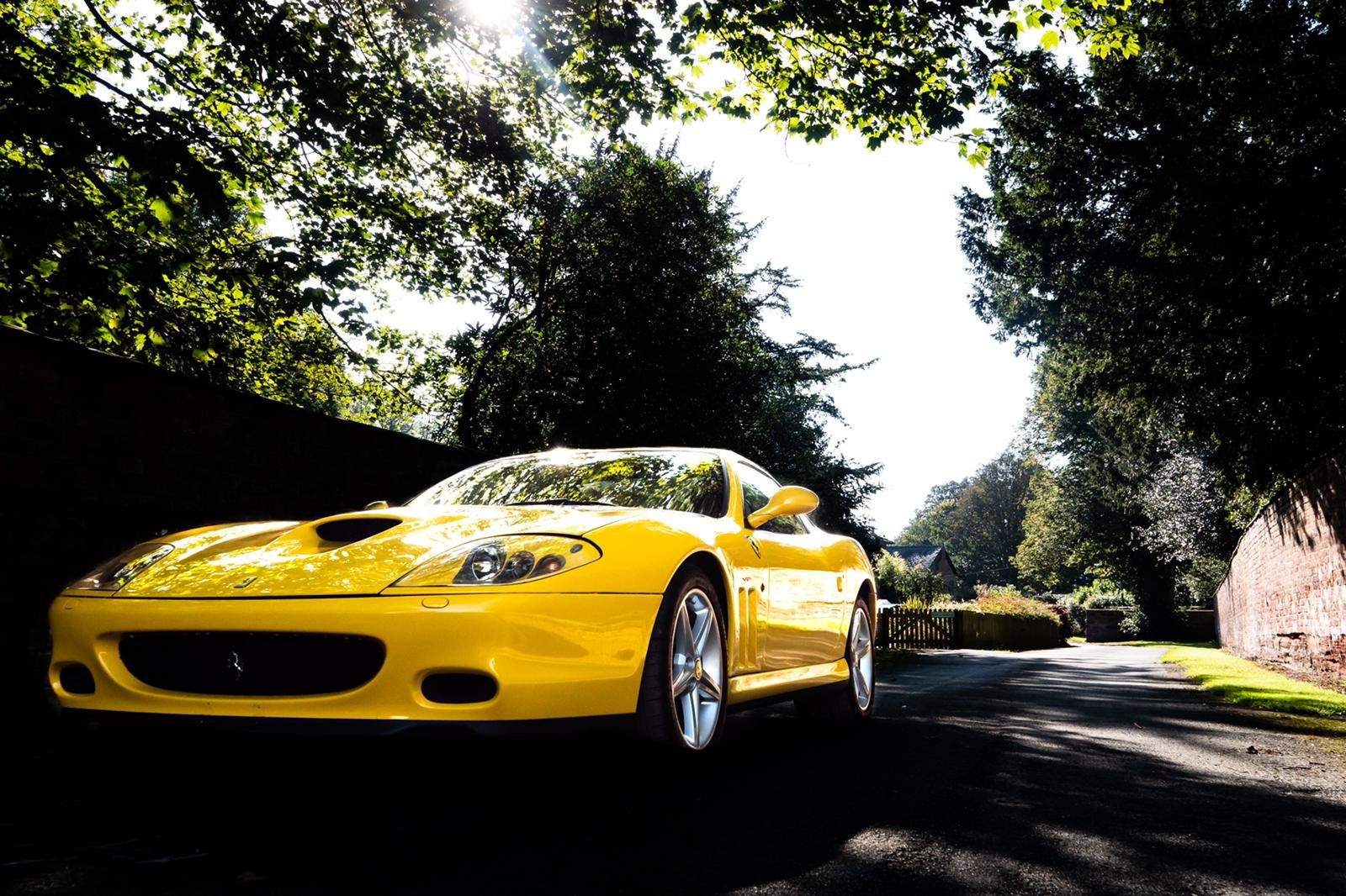 2003 Ferrari 575M ONLY YELLOW CAR FOR SALE IN THE UK For