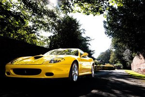 2003 Ferrari 575M ONLY YELLOW CAR FOR SALE IN THE UK For Sale