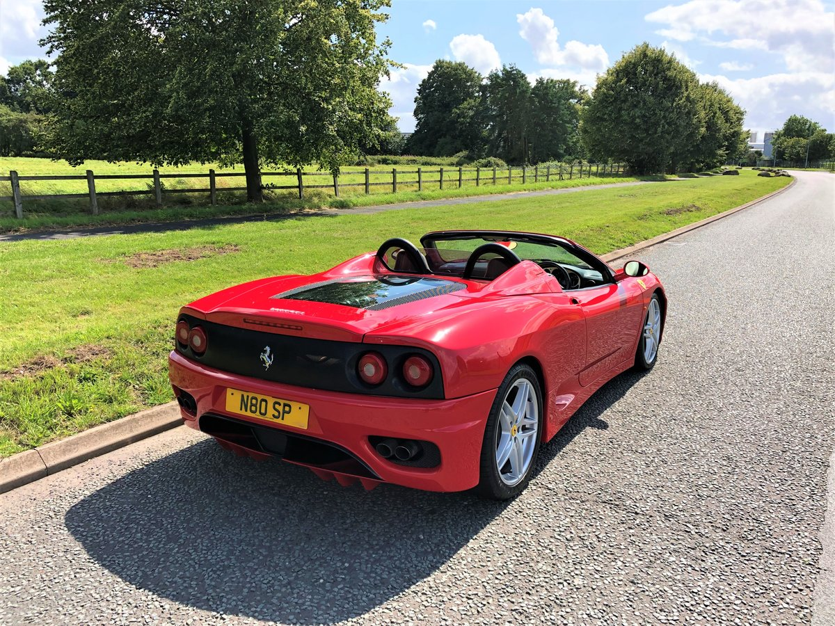 2004 Ferrari 360 Spider F1 + Stradale Styling + F430 Wheels SOLD (picture 3 of 6)