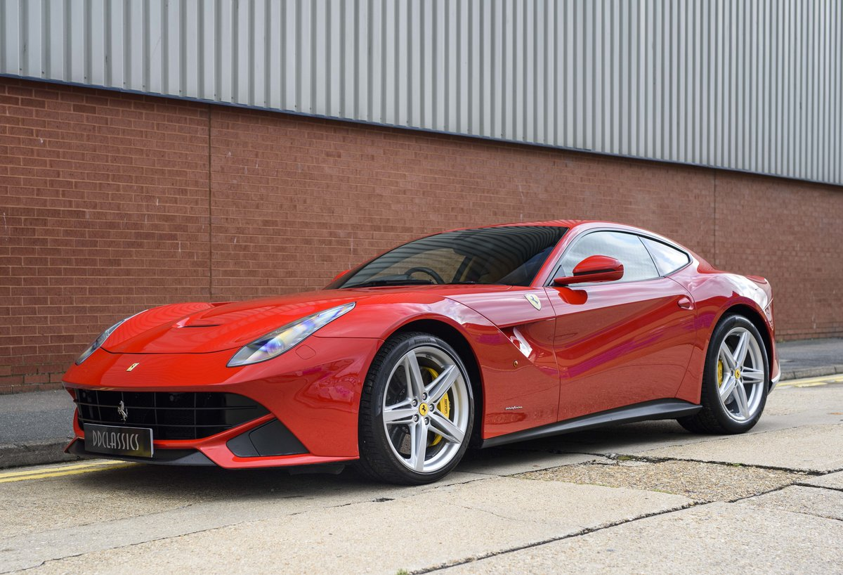 2014 Ferrari F12 Berlinetta For Sale In London  ( RHD  For Sale (picture 1 of 24)