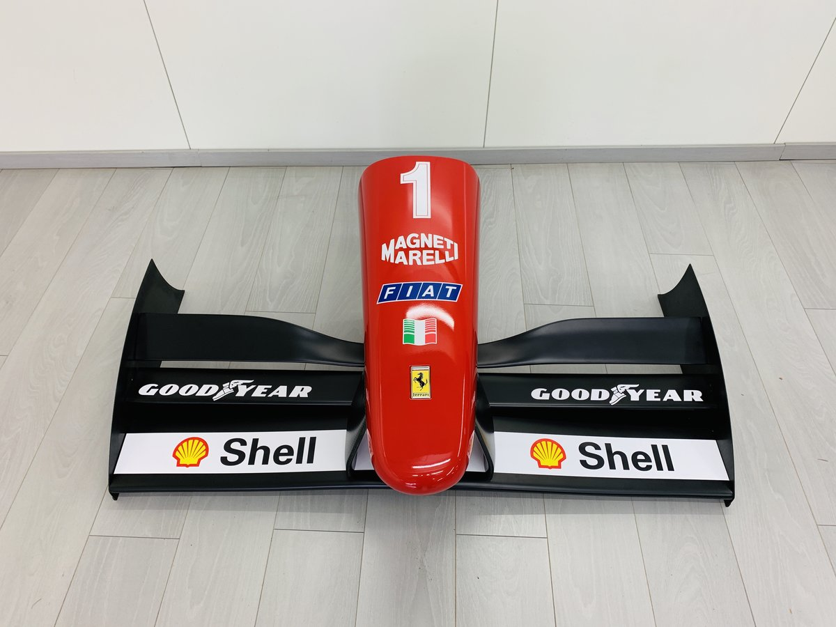 1996 Ferrari F1 F310 nosecone and wing mockup For Sale (picture 1 of 6)