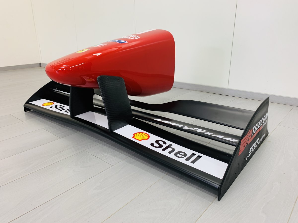 1996 Ferrari F1 F310 nosecone and wing mockup For Sale (picture 2 of 6)