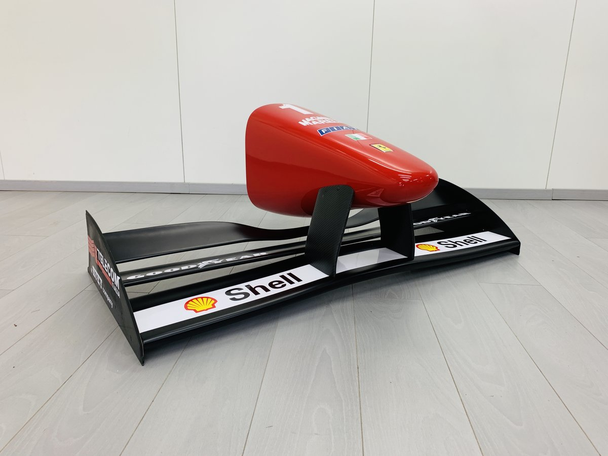 1996 Ferrari F1 F310 nosecone and wing mockup For Sale (picture 3 of 6)