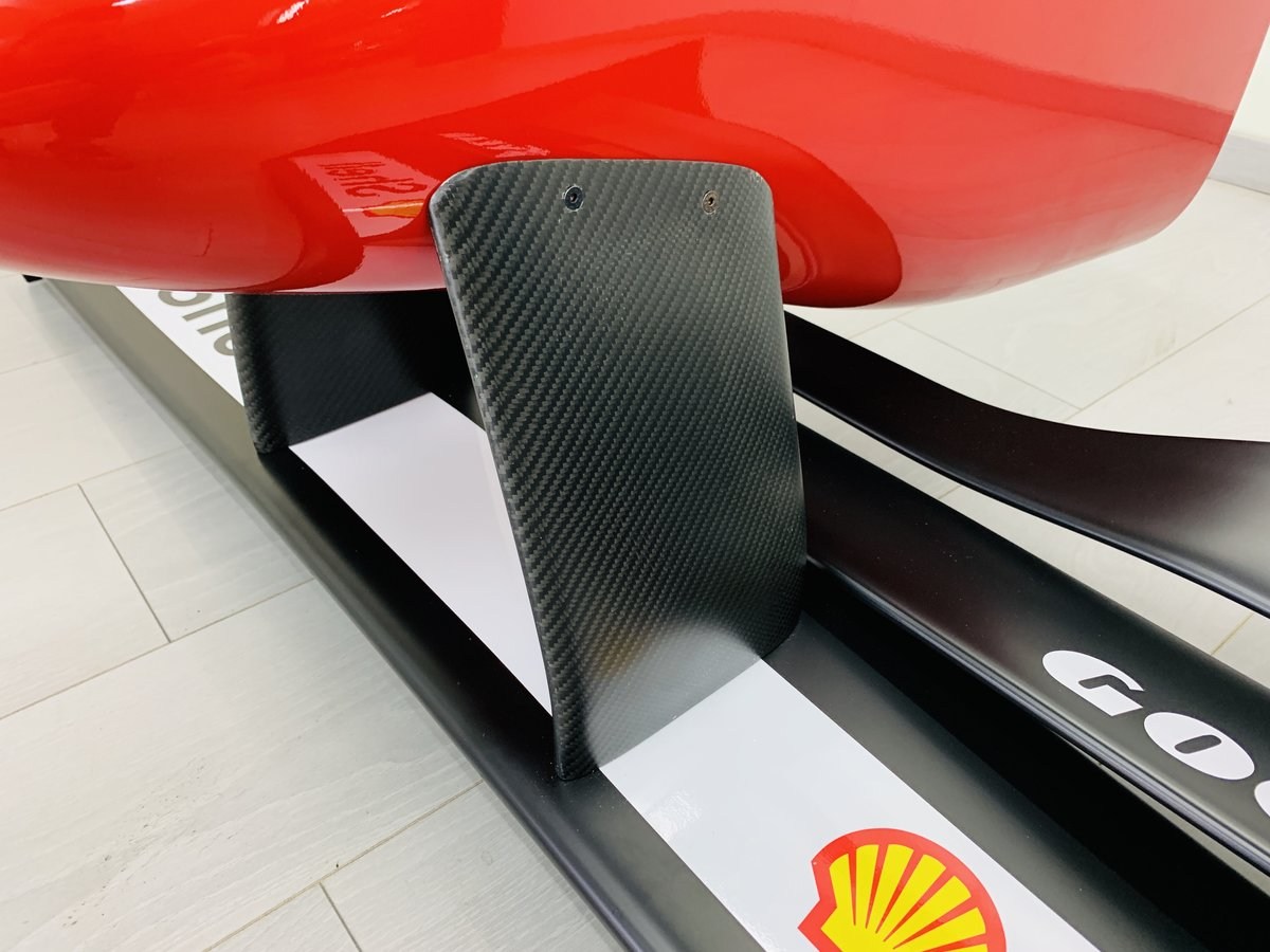 1996 Ferrari F1 F310 nosecone and wing mockup For Sale (picture 5 of 6)