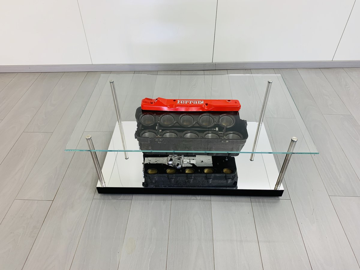 1997 Ferrari F1 coffe table with airbox F310B For Sale (picture 1 of 6)