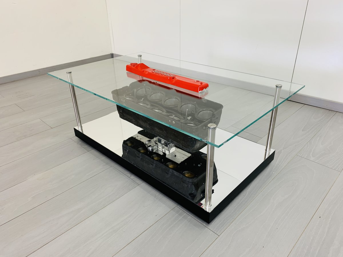 1997 Ferrari F1 coffe table with airbox F310B For Sale (picture 3 of 6)