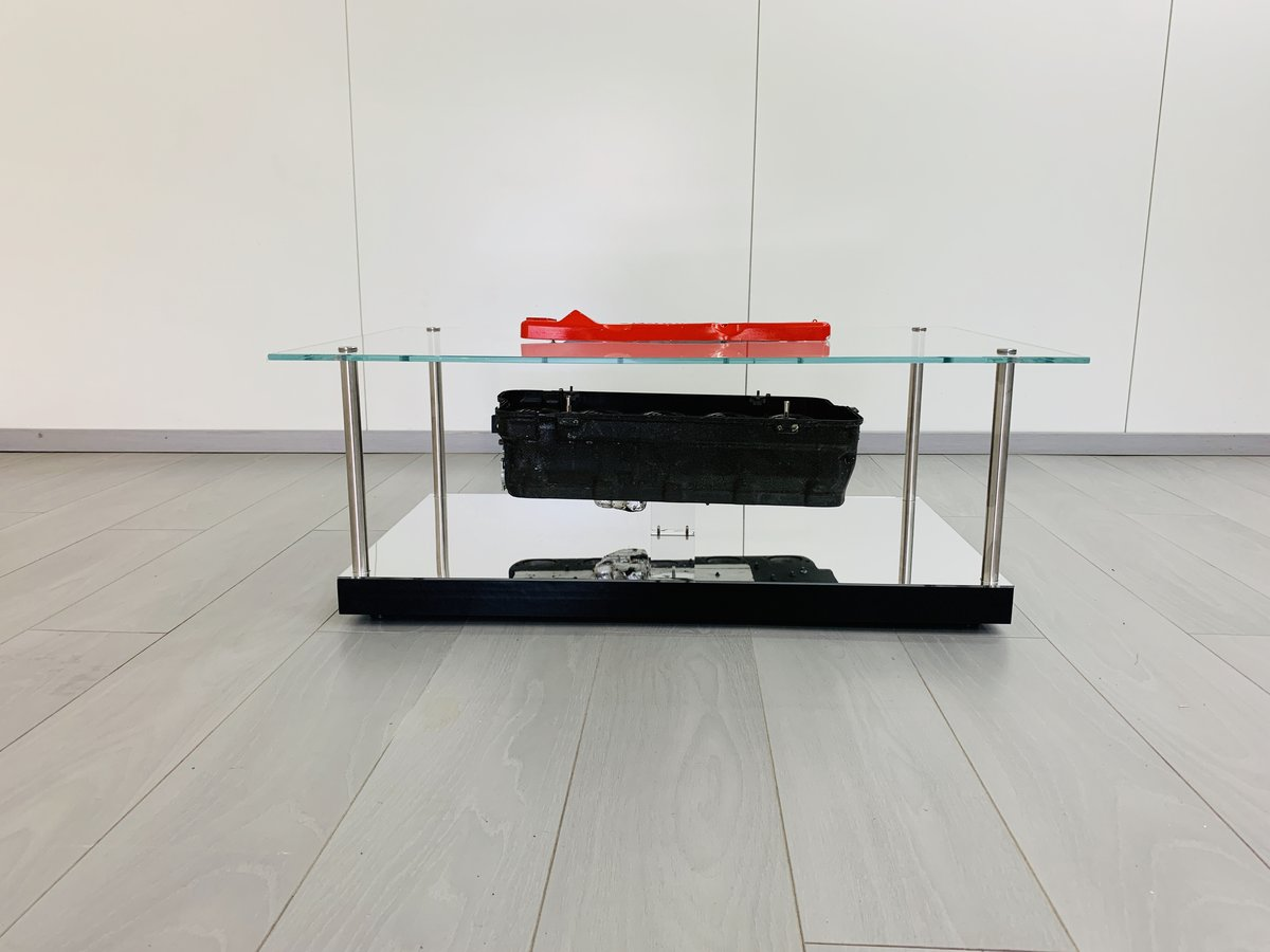 1997 Ferrari F1 coffe table with airbox F310B For Sale (picture 5 of 6)