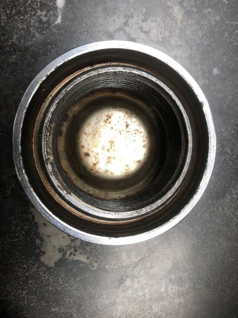 Set of Ferrari 365GTB/4 Borrani Wheel Knock Off Nut 42 rudge For Sale (picture 5 of 5)