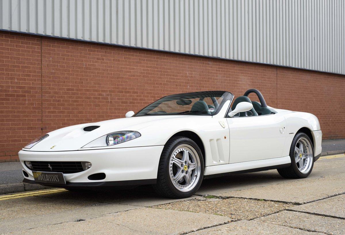 2002 Ferrari 550 Barchetta RHD For Sale In London For Sale (picture 1 of 24)