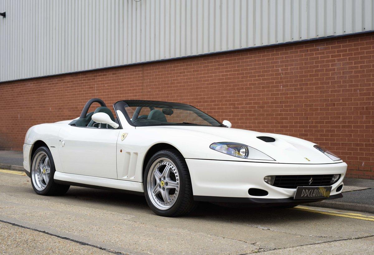 2002 Ferrari 550 Barchetta RHD For Sale In London For Sale (picture 2 of 24)