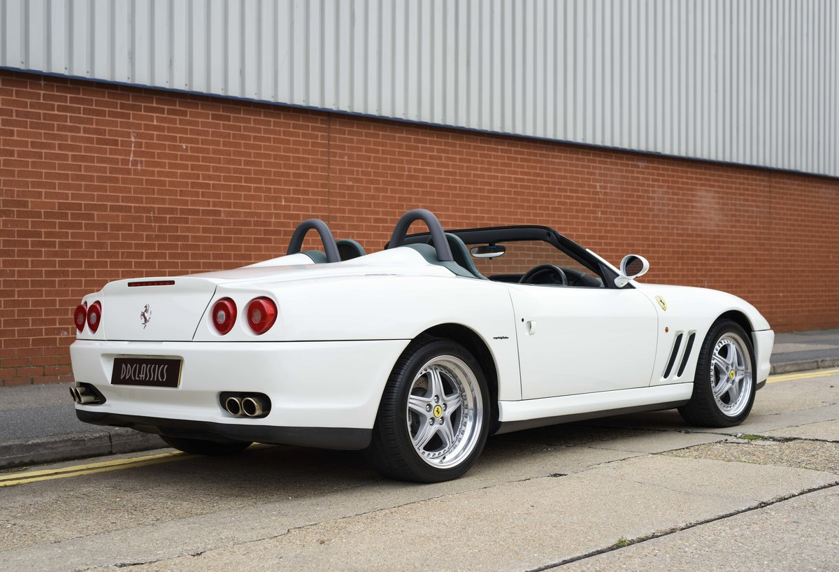 2002 Ferrari 550 Barchetta RHD For Sale In London For Sale (picture 3 of 24)