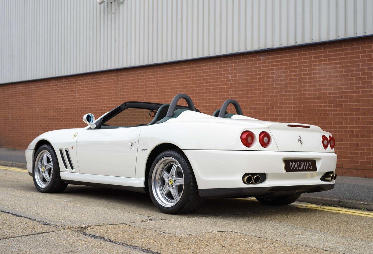 2002 Ferrari 550 Barchetta RHD For Sale In London For Sale (picture 4 of 24)