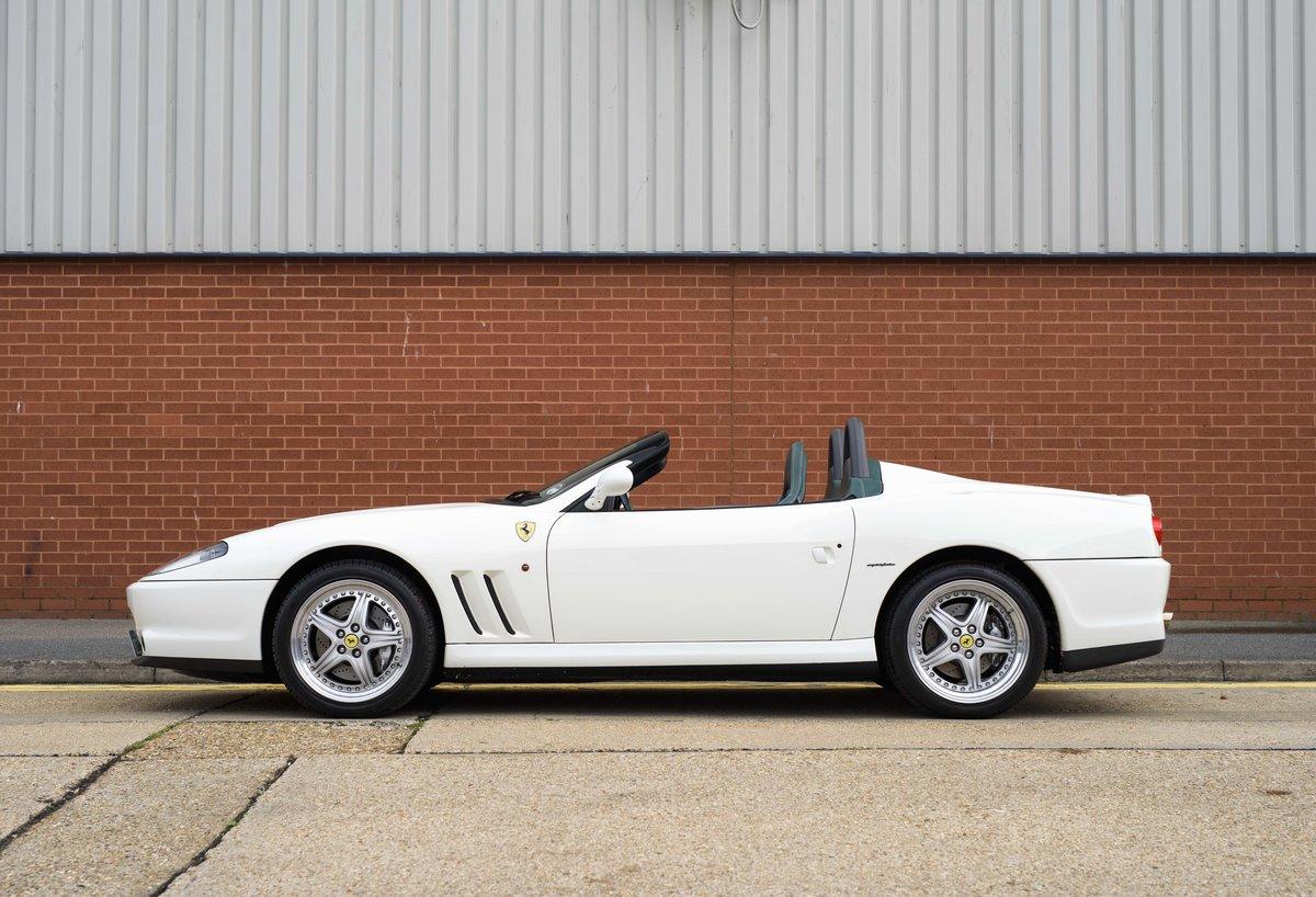 2002 Ferrari 550 Barchetta RHD For Sale In London For Sale (picture 6 of 24)