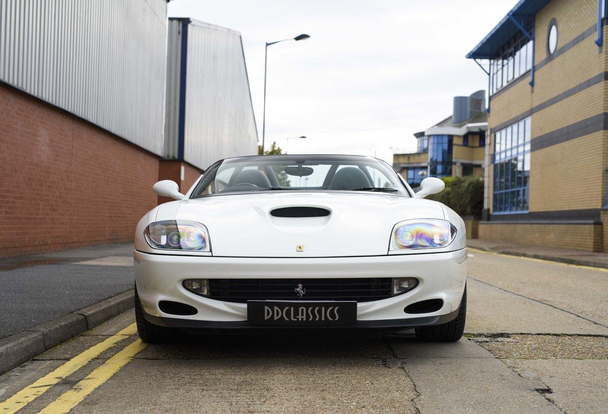 2002 Ferrari 550 Barchetta RHD For Sale In London For Sale (picture 7 of 24)