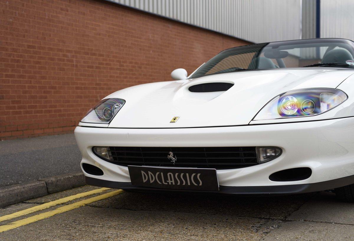 2002 Ferrari 550 Barchetta RHD For Sale In London For Sale (picture 9 of 24)