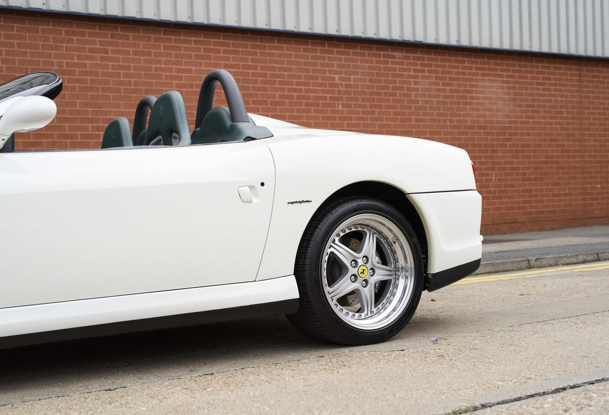 2002 Ferrari 550 Barchetta RHD For Sale In London For Sale (picture 10 of 24)