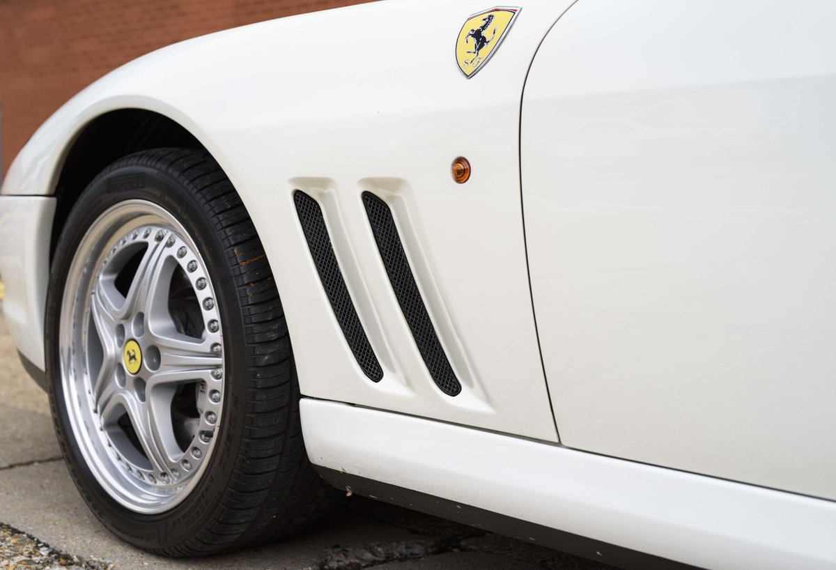 2002 Ferrari 550 Barchetta RHD For Sale In London For Sale (picture 12 of 24)