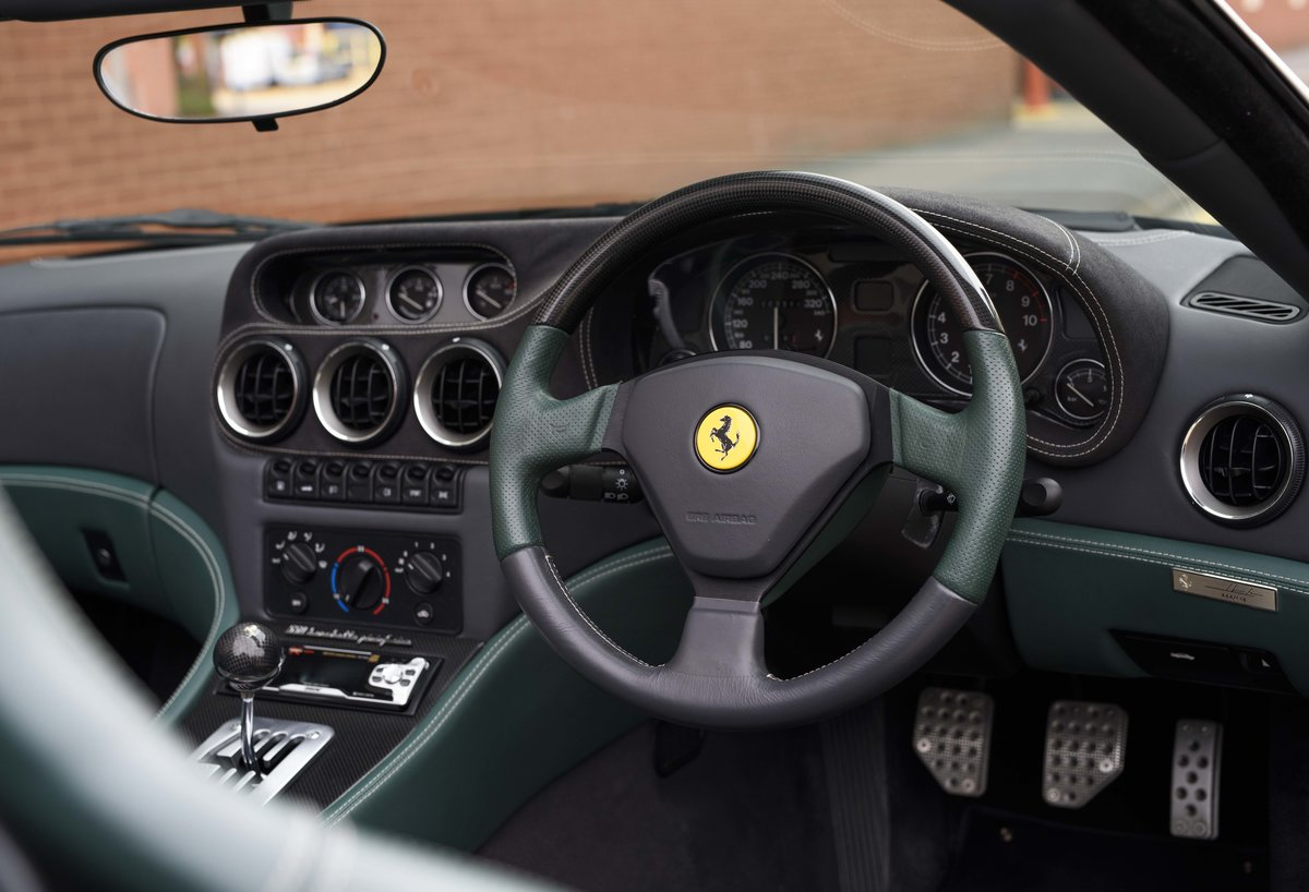 2002 Ferrari 550 Barchetta RHD For Sale In London For Sale (picture 13 of 24)