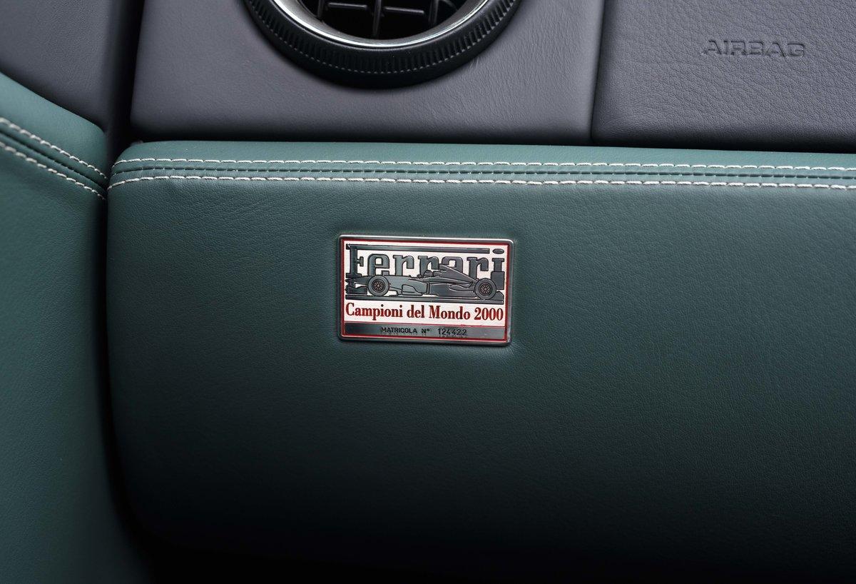 2002 Ferrari 550 Barchetta RHD For Sale In London For Sale (picture 22 of 24)