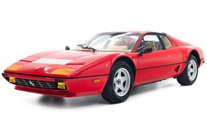 1983 Ferrari 512 BBi = Euro low 18KM  Red(~)Tan  $298.5k