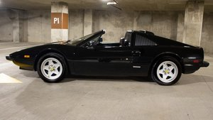 1985 Ferrari 308 GTSi = All Black $8k spent on work done $79