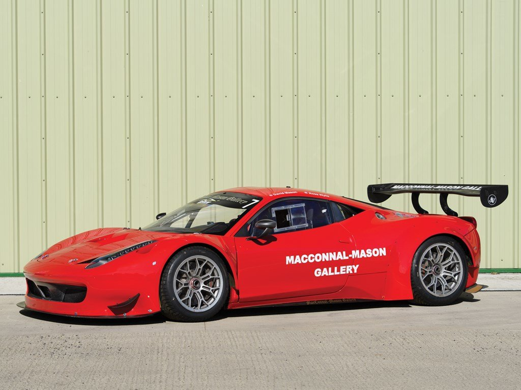 2012 Ferrari 458 GT3  For Sale by Auction (picture 1 of 6)