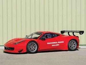2012 Ferrari 458 GT3  For Sale by Auction
