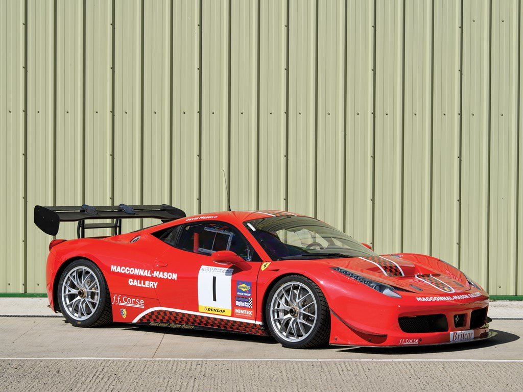 2011 Ferrari 458 Challenge  For Sale by Auction (picture 1 of 6)