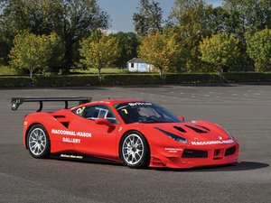 2018 Ferrari 488 Challenge  For Sale by Auction