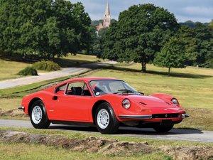 1973 Ferrari Dino 246 GT by Scaglietti For Sale by Auction