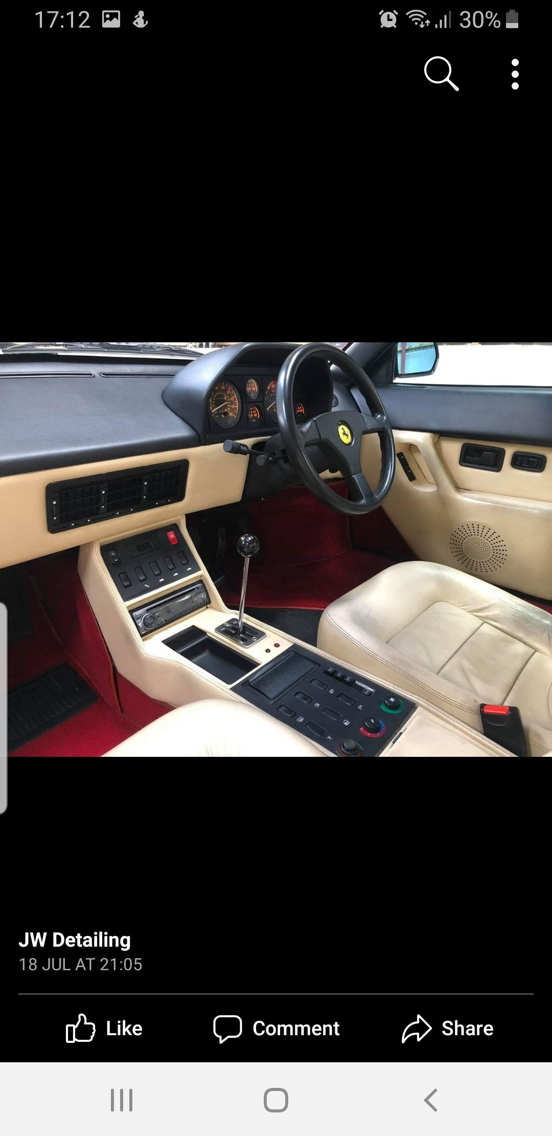 1993 Ferrari mondial t  For Sale (picture 5 of 6)