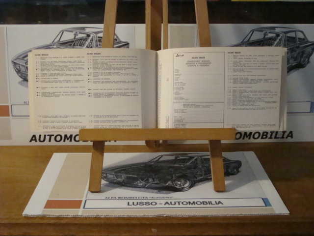 FERRARI DINO 308 GT4 OWNERS MANUAL & WARRANTY CARD For Sale (picture 3 of 5)