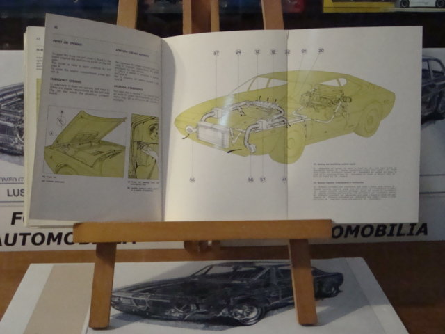 FERRARI DINO 308 GT4 OWNERS MANUAL & WARRANTY CARD For Sale (picture 5 of 5)